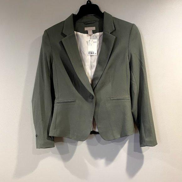 Green Blazer Jacket
